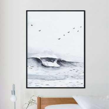 plakat baltic wave