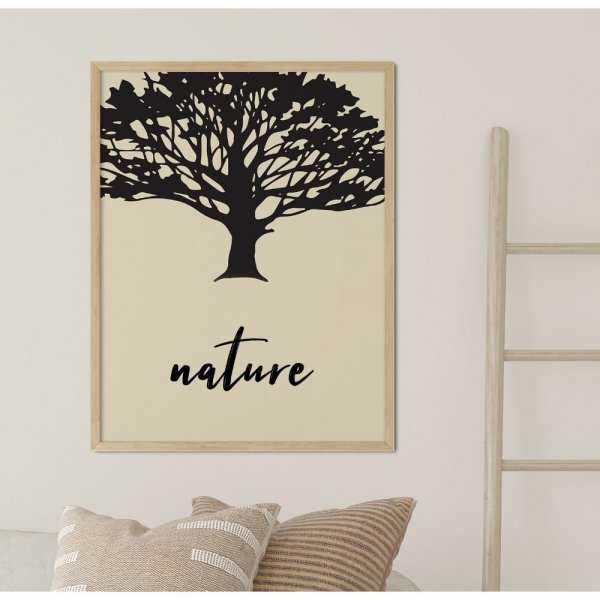 plakat birch of nature