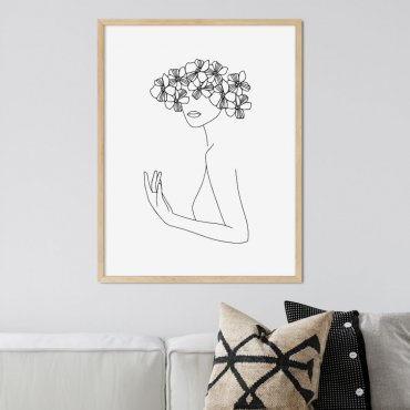 plakat flowergirl