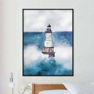 plakat lighthouse