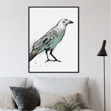 plakat majestic bird