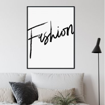 plakat minimal fashion
