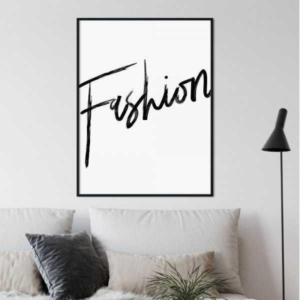 plakat minimal fashion