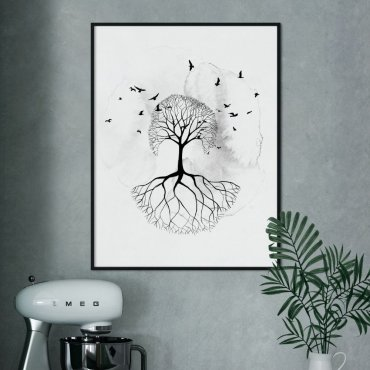 plakat shadow tree