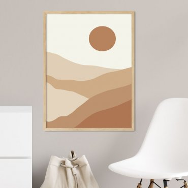 plakat sunset lines