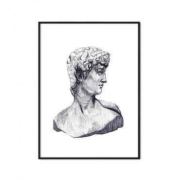 plakat greek sculpture