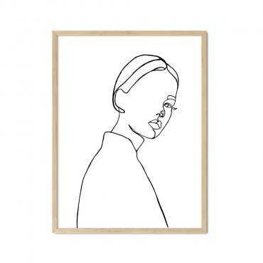 plakat fashion profiles