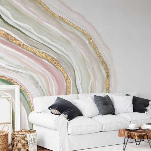 tapeta ścienna agat marble