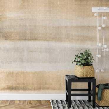 tapeta na ścianę beige sunset