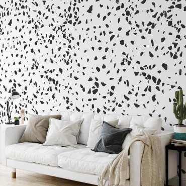 black lastryko tapeta na ścianę