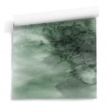 tapeta bottle green mist