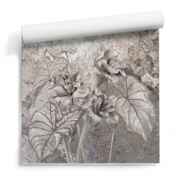 tapeta flora aestethics