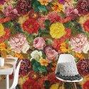 floral heat tapeta na ścianę