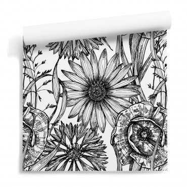 floral magic wzór tapety