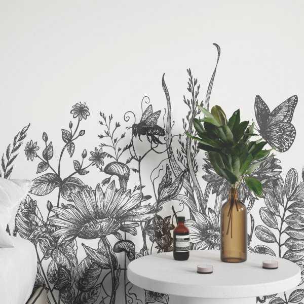 tapeta ścienna floral world art
