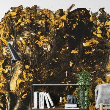 golden flame tapeta