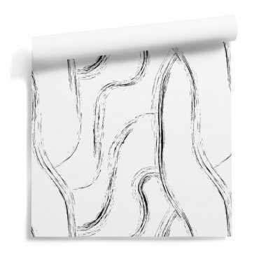 hairy lines tapeta
