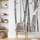 tapeta na ścianę hanging trees