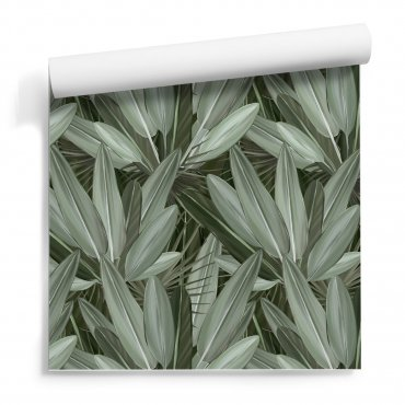 tapeta leafy wall