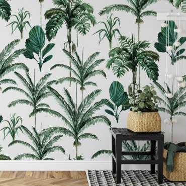tapeta palming wall