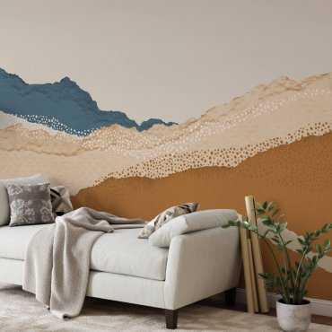 paper mountains tapeta