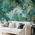tapeta ścienna turquoise precious