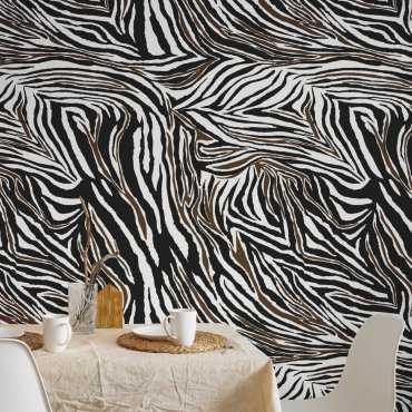 tapeta zebra skin