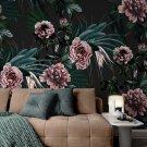 tapeta na ścianę floral darkness