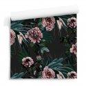 tapeta motyw floral darkness