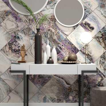 tapeta marble glitter ścienna