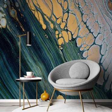 tapeta painting ocean