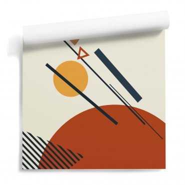 tapeta na ścianę warmy composition