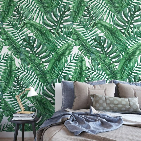 MONSTERA DESIGN - Tapeta ścienna