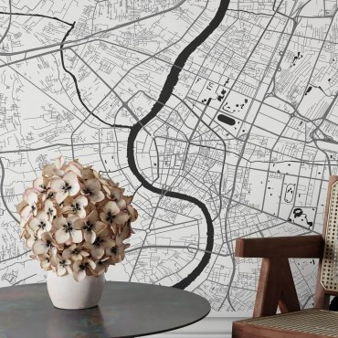 tapeta mapa bangkok