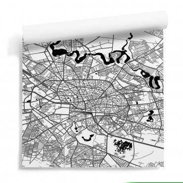 mapa bukareszt tapeta