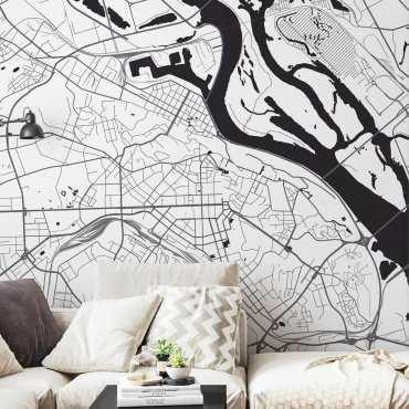 mapa kijów tapeta