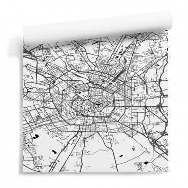 tapeta mapa mediolan