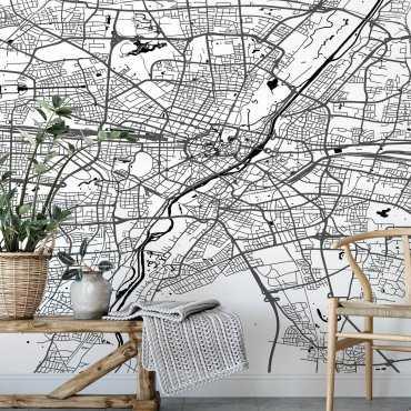 mapa monachium tapeta