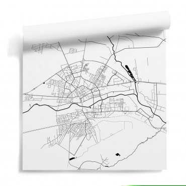 mapa biała podlaska tapeta
