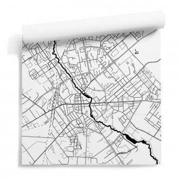 mapa koszalin tapeta motyw