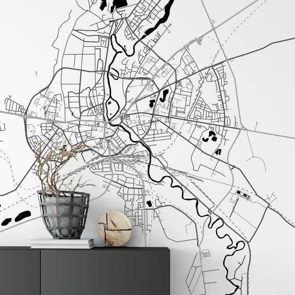 mapa piła tapeta