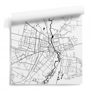 wzór mapa słupsk tapeta