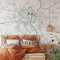 mapa ciechanów tapeta ścienna