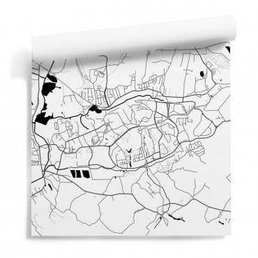 tapeta mapa jastrzębie-zdrój