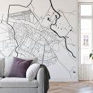 tapeta na ścianę mapa łomża