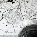 mapa mysłowice tapeta ścienna