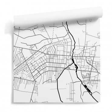 tapeta mapa pabianice