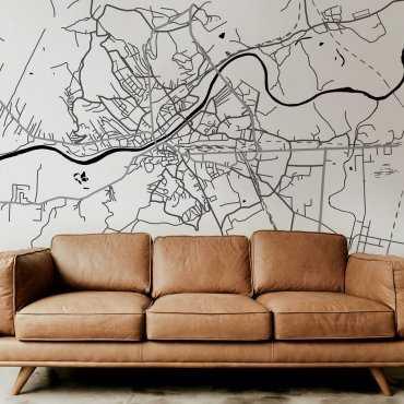 mapa przemyśl motyw tapety