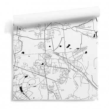 mapa siemanowice śląskie tapeta na ścianę