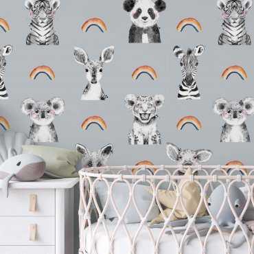 tapeta dla dzieci rainbow friends